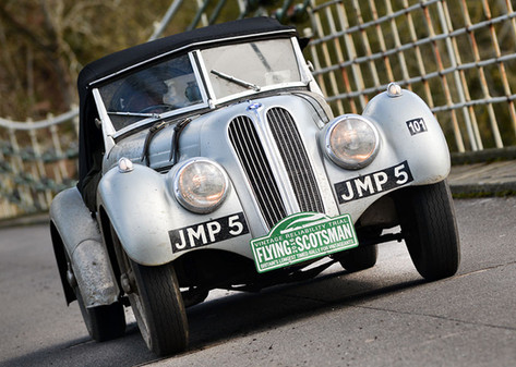Endurance Rally Association's, Flying Scotsman Rally.