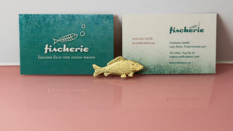 Visitenkarte Fischerie