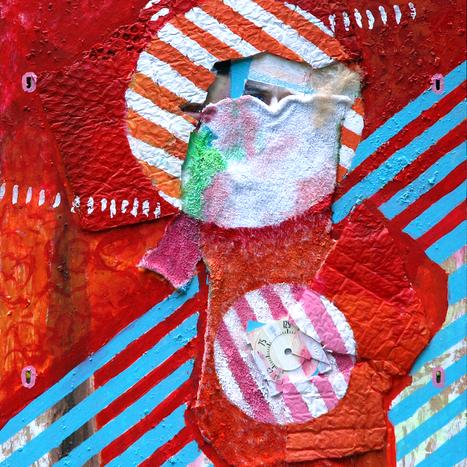 Stripes Selbst Portrait, 2008
