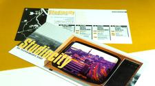 Flyer Architekturprojekt Studiocity