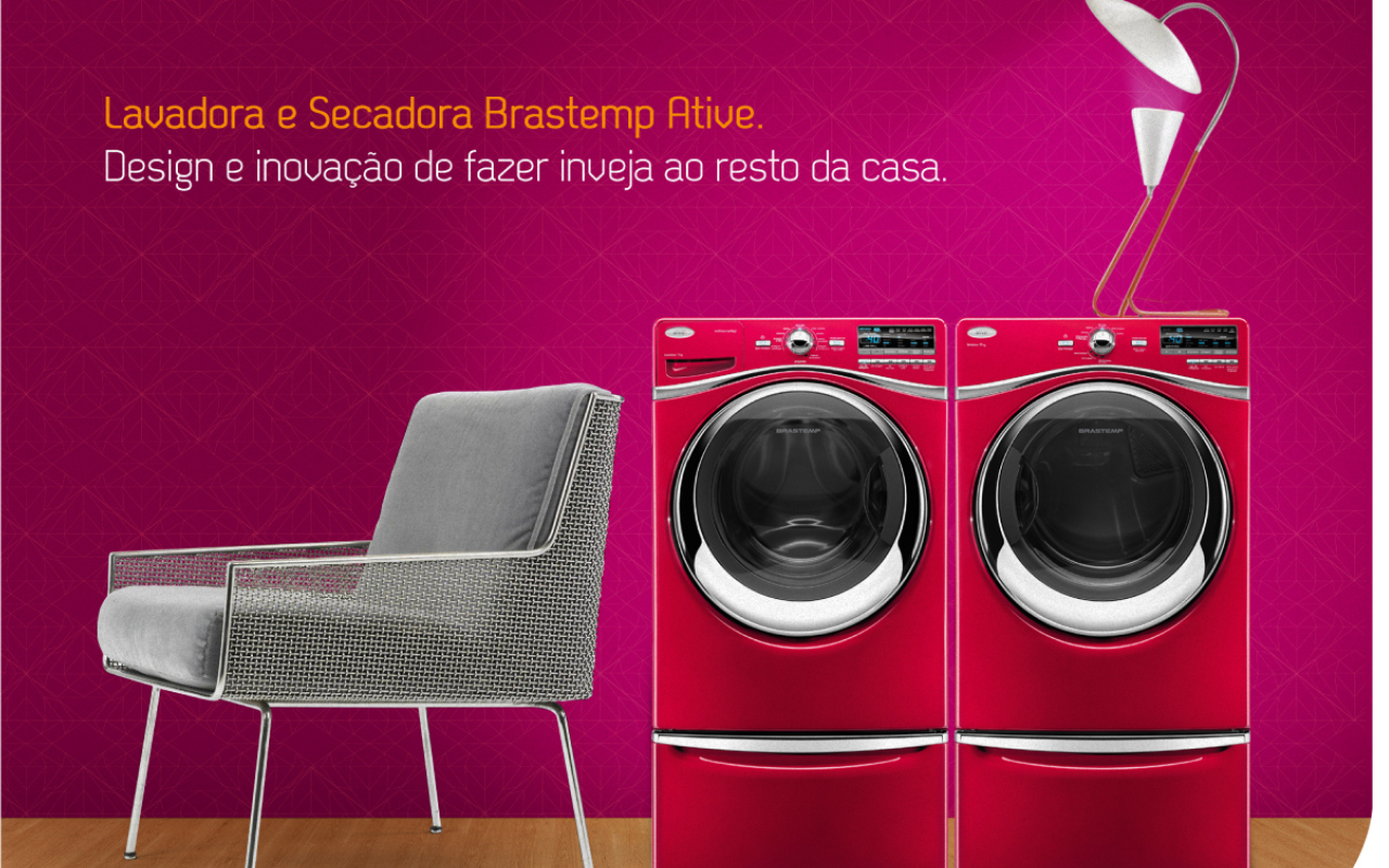 Laundry Center Brastemp