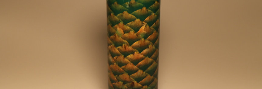 Stabiliseret grankogle grøn
