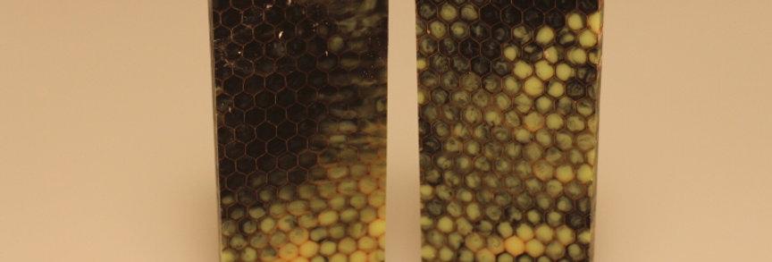 Honey cubes grøn/sort