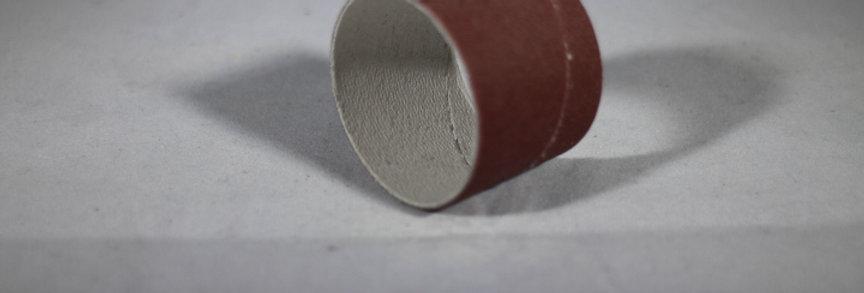 Sandpapir til sliberulle Ø 38 mm. 10 stk.