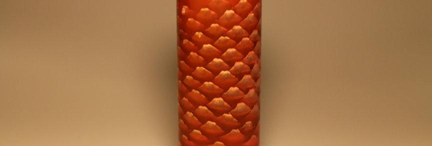 Stabiliseret grankogle rød