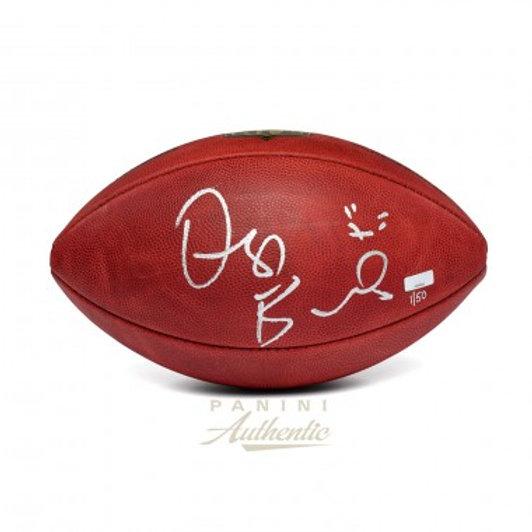 Dez Bryant Autographed Authentic Nfl Football With X Inscription Limited Edit