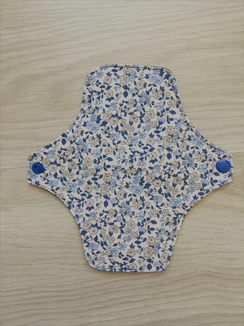 Protège slip fleurs bleu