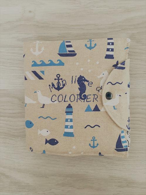 Livre à colorier mer