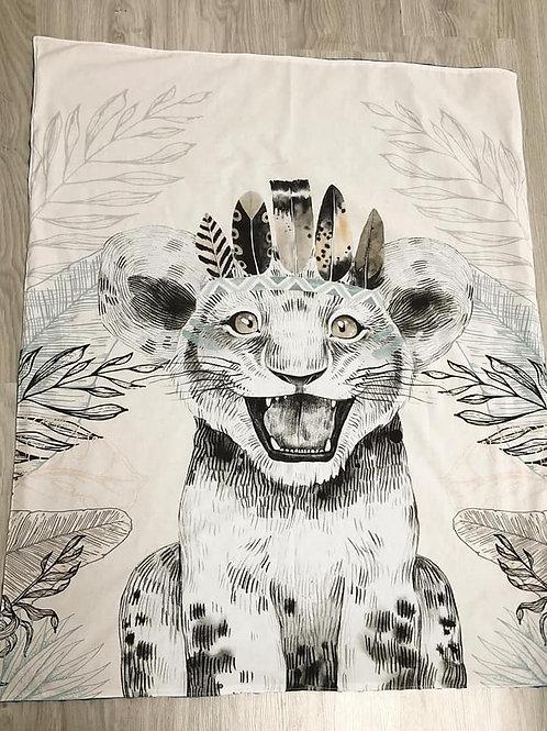 Couverture de naissance tigre