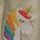 Thumbnail: Chausson licorne, taille 22