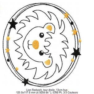 Lion Redwork_tour étoile_13cm-jpg.jpg