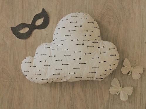Coussin nuage flèches