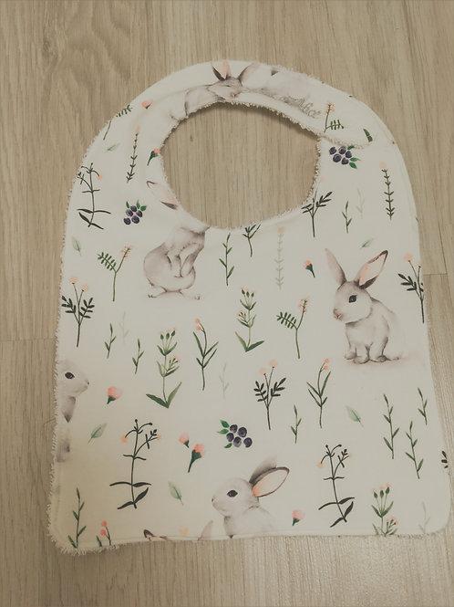 Bavoir lapins