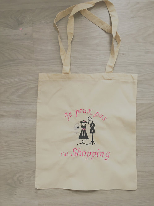 Tote bag shopping