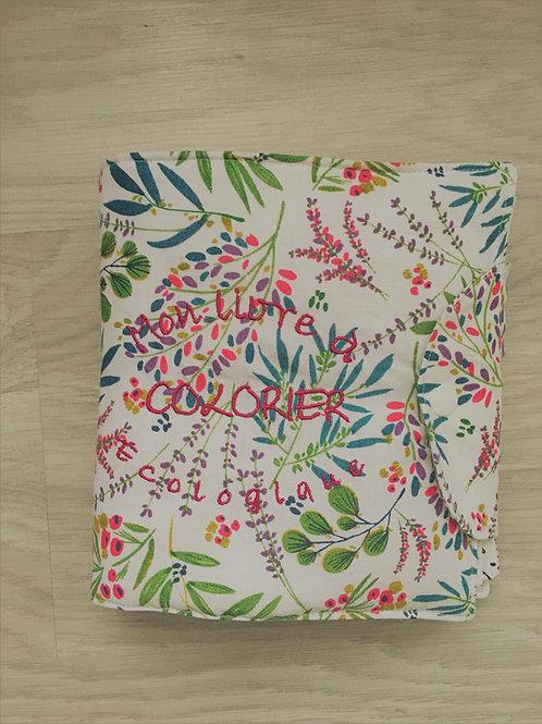 Livres  à colorier fleurs