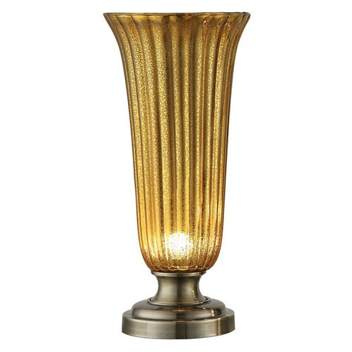 Glass Torchiere Lamp (Set of 2)