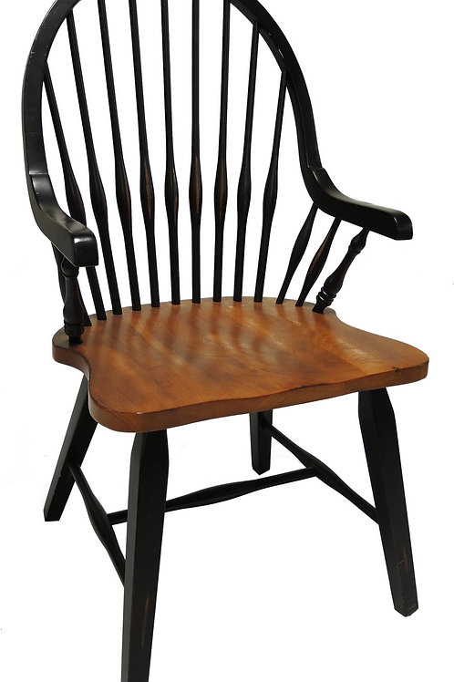Tennessee Enterprises - St. Michael Collection 2-Toned Arm Chair