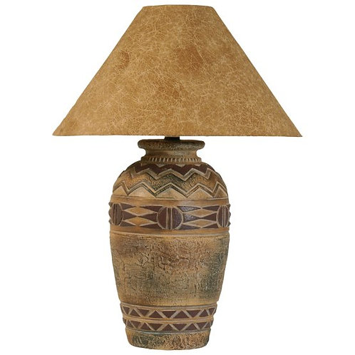 Southwest Hydrocal Table Lamp