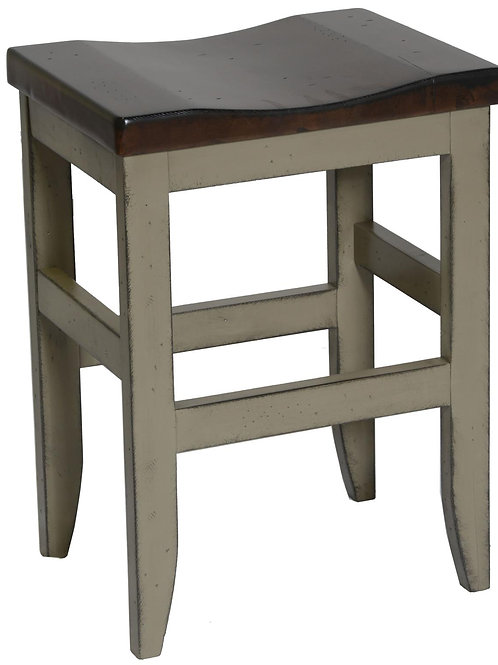 """Tennessee Enterprises - St. Helen Collection 24""""H Barstool"""