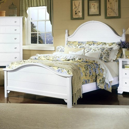 Vaughan Bassett - Cottage Collection Panel Bed