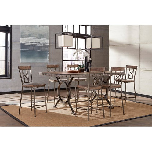 Hillsdale - Paddock 5 Piece Counter Height Dining Set