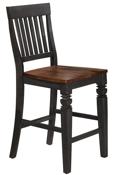 Tennessee Enterprises - St. Pete Collection Slat Back Barstool