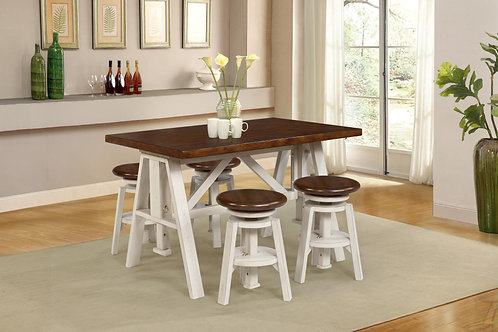 Tennessee Enterprises - Modesto Collection Adjustable Table
