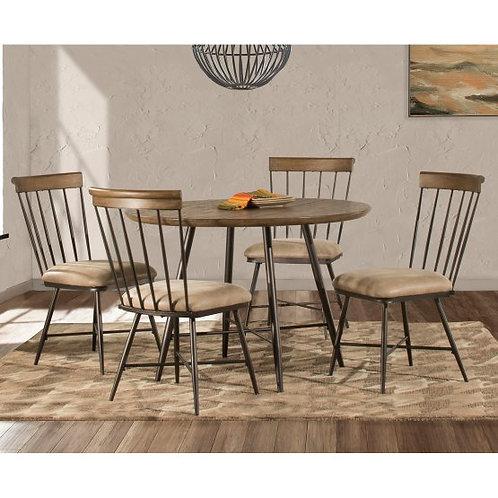 Hillsdale - Forest Hill 5 Piece Round Dining Set