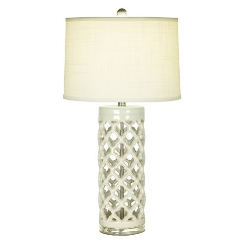 Ceramic Lace Table Lamp (Set of 2)