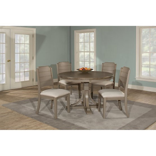 Hillsdale - Clarion 5 Piece Round Dining Set with Side Chairs
