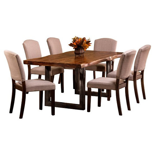 Hillsdale - Emerson 7-Piece Rectangle Dining Set