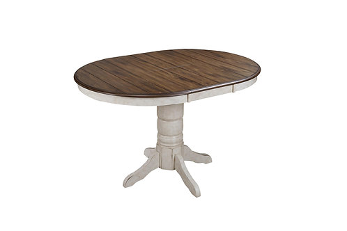 Tennessee Enterprises - Vintage Estates Collection Table with Butterfly Leaf