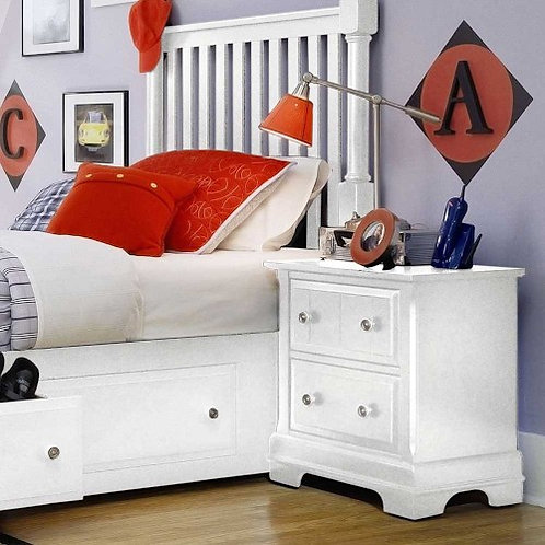 Vaughan Bassett - Cottage Collection Two Drawer Nightstand