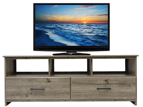 Perdue #22602 Weathered Gray TV Stand