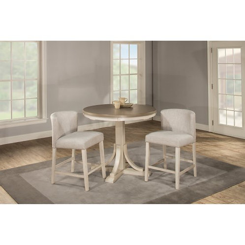 Hillsdale - Clarion Dining Collection Round Counter Dining Table