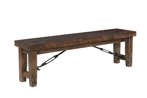 Tennessee Enterprises - Rustic Lodge Collection Dining Table Bench