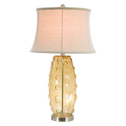 Glass Table Lamp (Set of 2)