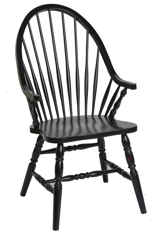 Tennessee Enterprises - Windswept Shores Collection Bowback Arm Chair