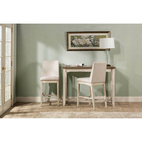 Hillsdale - Clarion 3 Piece Counter Dining Set with Parson Stools