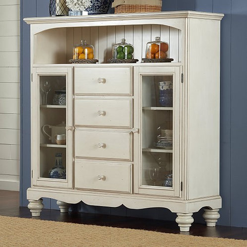 Hillsdale - Pine Island 4 Drawer Bakers Cabinet