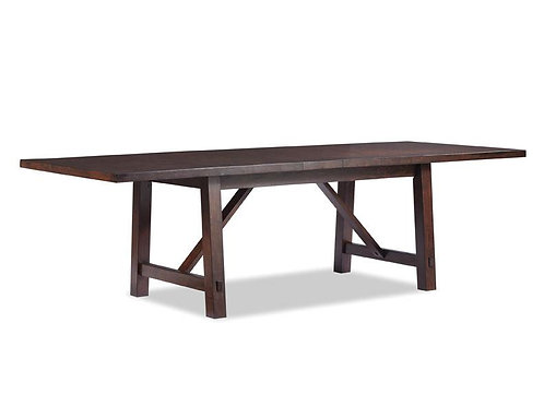 Tennessee Enterprises - Rustic Heirloom Collection Trestle Table