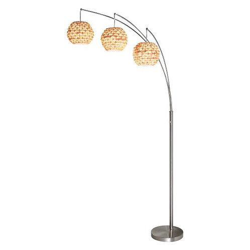 Bamboo Shade Floor Lamp
