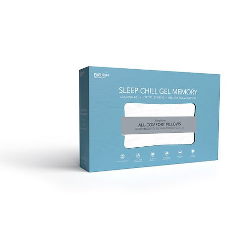 Sleep Chill Gel Memory Pillow by Fashion Bed Group