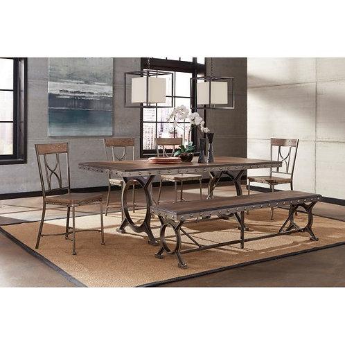 Hillsdale - Paddock 6 Piece Rectangle Dining Set