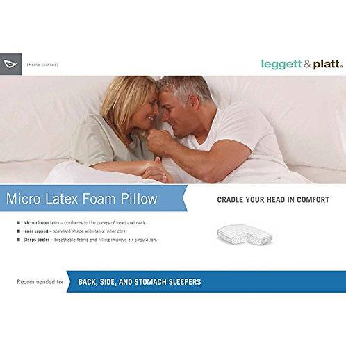 Micro Latex Pillow starting at $29
