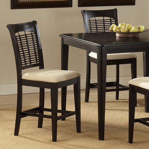 Hillsdale - Bayberry Collection 24-Inch Non-Swivel Counter Stool (Set of 2)