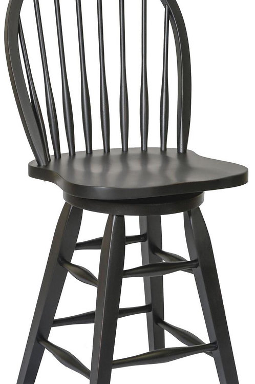 """Tennessee Enterprises- St. Michael Collection 24""""H Barstool"""