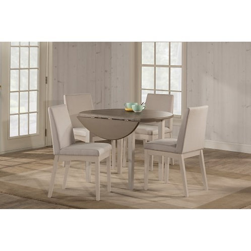 Hillsdale - Clarion Dining Collection Round Drop Leaf Dining Table