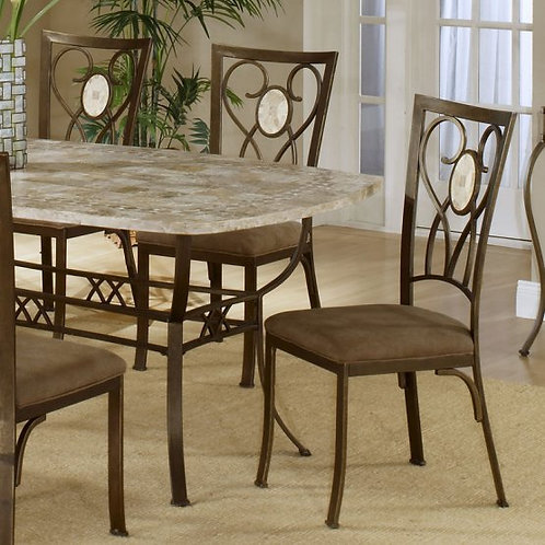 Hillsdale - Brookside Dining Collection Oval Fossil Back Dining Chair (Set of 2)