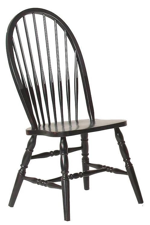 Tennessee Enterprises - Windswept Shores Collection Bowback Side Chair